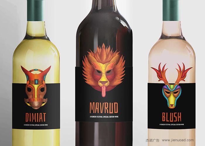 国外个性红酒标签设计欣赏